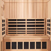 3-Person Jacuzzi Sanctuary Full Spectrum Corner Sauna thumb 6